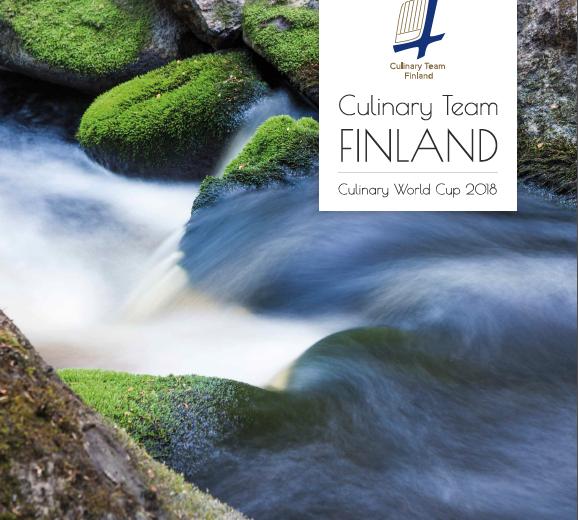 Culinary Team Finland -esite